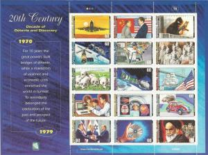 Marshall Islands-1999 Events of the 1970s - 15 Stamp Set #723 13P-098