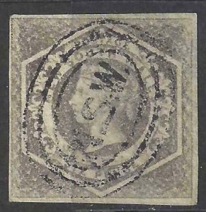Australia - New South Wales 1854-1855 SC 28 Used SCV $45.00