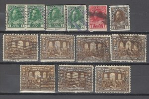 COLLECTION LOT # 2921 CANADA 13 STAMPS CLEARANCE 1912+ CV+$25