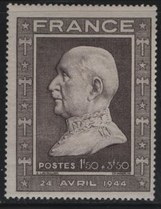 FRANCE, B175, USED, 1944, Marshal Petain