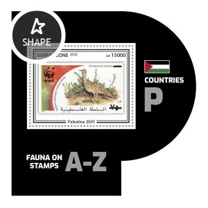 SIERRA LEONE - 2020 - Fauna on Stamps - Perf Souv Sheet #9 - Mint Never Hinged