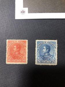 Venezuela Scott 143-144 Mint