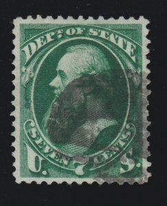 US O61 7c State Department Used VF-XF SCV $65