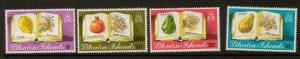 PITCAIRN ISLANDS SG222/5 1982 FRUIT MNH