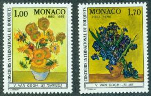 Monaco #1124-1125  MNH  Scott $6.00