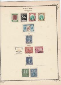 guatemala stamps page ref 17218