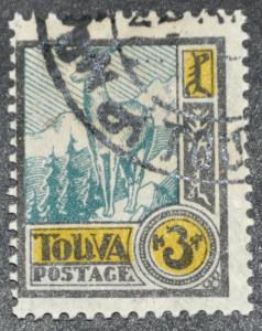 DYNAMITE Stamps: Tannu Tuva Scott #17 – USED