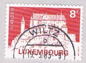 Luxembourg 679 Used Vianden 1982 (BP27221)