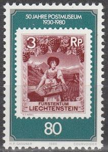 Liechtenstein #690  MNH   (S8901)