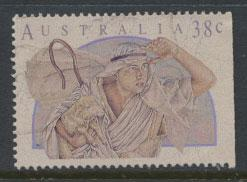 Australia SG 1309  Used  from booklet right margin imperf - Christmas