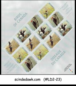 CANADA - 1996 BIRDS OF CANADA - MINIATURE SHEET MINT NH