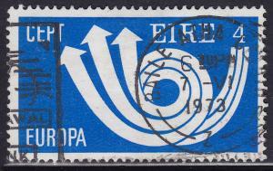 Ireland 329 USED 1973 Europa CEPT Post Horn & Arrows