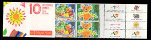Great Britain Sc 1247a 1989 Greetings stamp booklet mint NH