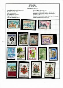 Bermuda Lot of 50 Stamps Used