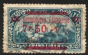 Lebanon 1928-29 Scott# 105 Used