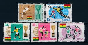 [60540] Ghana 1966 World Cup Soccer Football England MNH