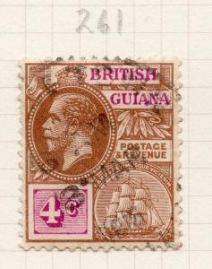 British Guiana 1912 Early Issue Fine Used 4c. 283867