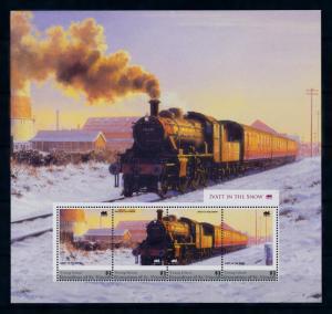 [93267] Young Isl Gren St. Vincent 2011 Railway Train Eisenbahn Ivatt Sheet MNH