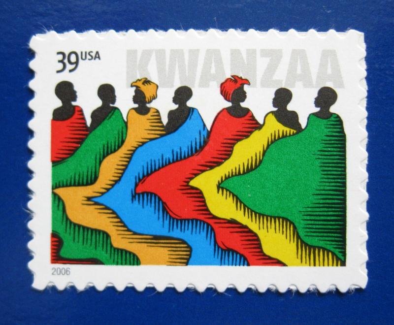 Sc 4119 39 Cent Kwanzaa Issue Bh27