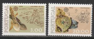 PORTUGAL 1976 EUROPA SET MNH **