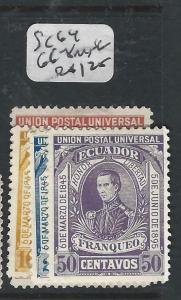 ECUADOR  (P0706B)   SC 64, 66-8  MNG