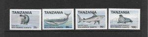 WHALE-SHARK - TANZANIA #950-3  MNH