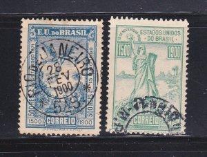 Brazil 164-165 U Discovery Of Brazil