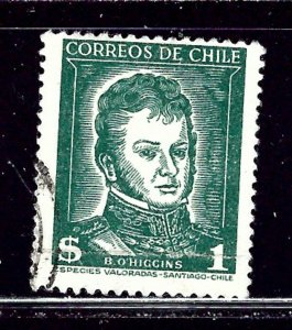 Chile 265 Used 1952 issue