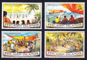 Pitcairn Oeno Island Holidays 4v SG#474-477 SC#427-430