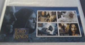 TONGO SHEET IMPERF CINDERELLA LORD OF THE RINGS