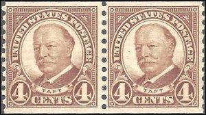 687 Mint,OG,NH... Pair... SCV $9.50