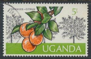 Uganda  SG 159  Used  1975  Orange    SC# 143  See scan