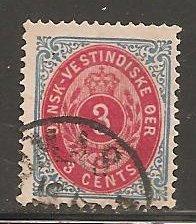 Danish West Indies  SC  6  Used