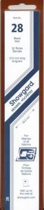 SHOWGARD BLACK MOUNTS 215/28 (22) RETAIL PRICE $9.75