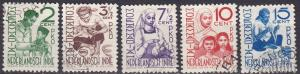 Netherlands Indies #B52-6  F-VF Used  CV $13.05  Z5