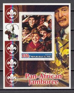 Mali, 2006 Cinderella issue. N. Rockwell`s Boy Scout Illustration IMPF s/sheet.