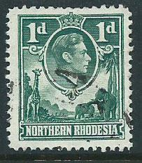 Northern Rhodesia  SG 28 Fine Used