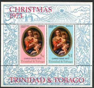 Trinidad & Tobago; 1973; Sc. # 241-242a; **/MNH Souv. Sheet