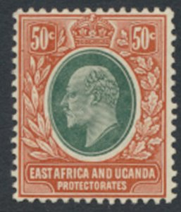 East Africa and Uganda Protectorate  SG 41  Sc # 38 MH see details & scans