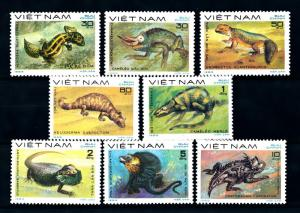 [94584] Vietnam 1983 Reptiles Lizards Chameleons Bearded Dragon  MNH