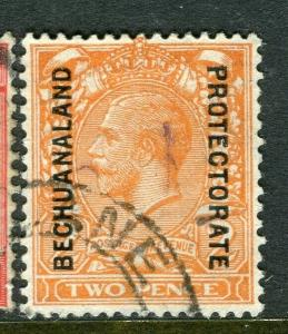 BECHUANALAND; 1927 early GV issue fine used 2d. value