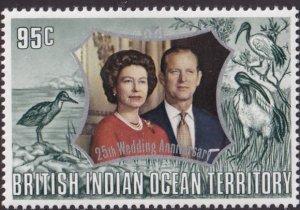 British Indian Ocean Territory #49 MNH