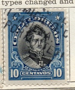 Chile 1911 Early Issue Fine Used 10c. NW-11451