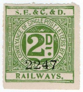 (I.B) South Eastern & Chatham & Dover Railways : Letter 2d