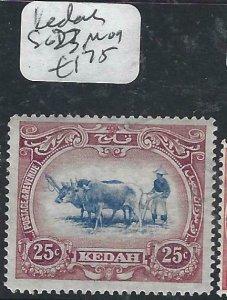MALAYA KEDAH  (P2206B) COW  25C  SG 23  MOG
