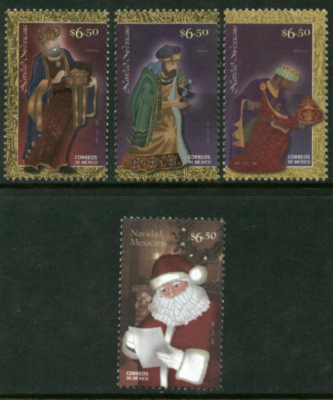 MEXICO 2660-2663 Christmas Season - Set of four. MNH.