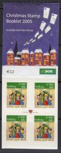 Ireland 1641a Self-Adhesive Die Cut Complete booklet MNH - Christmas 2005