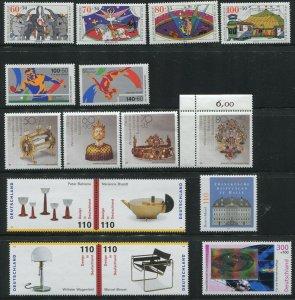 BRD   eine Karte mit Postfrischen Marken  MNH** Stamps