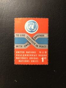 United Nations #104 MNH