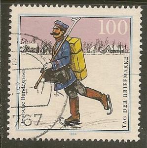 Germany        Scott 1872     Postman            Used